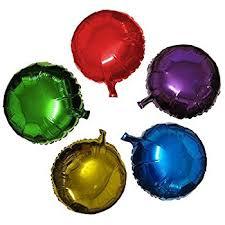 foil balloons zebratown 18inch polka dot balloon party supplies
