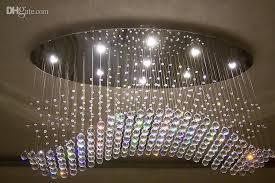 Modern Crystal Chandeliers Attractive Modern Chandeliers Online Oval Curtain Wave Modern