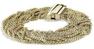 gold box chain bracelet images Lyst david yurman multi row box chain bracelet in 18k gold 21mm jpeg