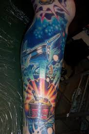 Girly Tattoo Sleeve Ideas Treasure Chest Tresure Chest Girly Tattoo Pinterest Girly