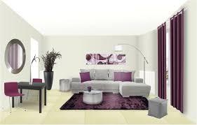 chambre prune et gris deco peinture salon gris et blanc on decoration d interieur moderne