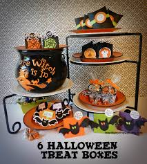 halloween hershey kisses it u0027s written on the wall 6 halloween treat boxes that hold just