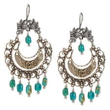 filigree earrings sterling silver mexican filigree earrings with turquoise jj caprices