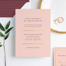 wedding invitations less is more wedding invitations paper culture