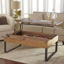 coffee table that raises up hugh java lift top coffee table java storage and coffee