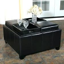 Leather Ottoman Coffee Table Rectangle Large Rectangular Ottoman Rectangle Ottoman Coffee Table Large