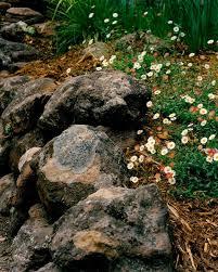 Garden Rock Wall by Gardening By Nature U0027s Design