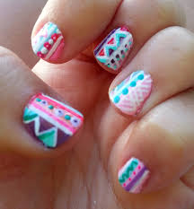 figuras geometricas uñas diseños de uñas