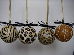 animal print leopard zebra decorative ornaments by artbouquet