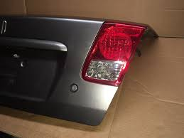 2005 honda civic trunk latch 2004 2005 honda civic trunk lid silver metallic light and