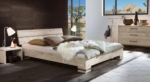 Schlafzimmer Richtig L Ten Massivholzbett Und Kopfteil In Rustikaler Eiche Curada