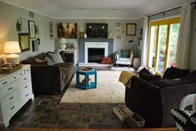 square carpet tiles for small family room design with white