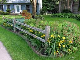 garden border fencing ideas home outdoor decoration