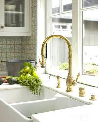 farmhouse kitchen faucets farmhouse faucet kitchen dual apron sink and gold faucet vintage