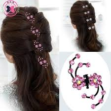 hair pins 6pcs snowflake hair hair pins headwear