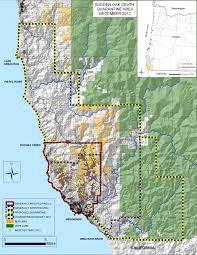 Oregon Blm Maps by Wildland Monitoring Sudden Oak Death
