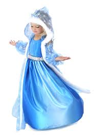 princess costumes for halloween snow princess halloween costumes for kids