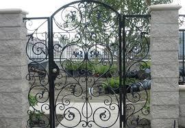ornamental wrought iron entry gates orange county ca iron