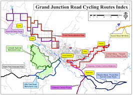 grand junction road rides coloradobikemaps