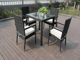 Fake Wicker Patio Furniture by Inspiration Idea Patio Dining Furniture Sets With Resin Wicker