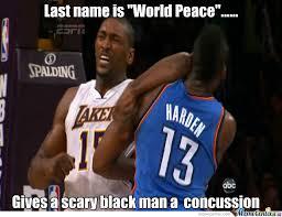 Metta World Peace Meme - metta world peace by spencer7johnson meme center