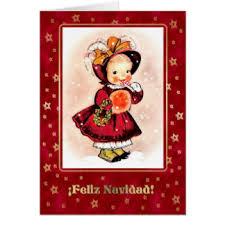 vintage spanish christmas cards invitations greeting u0026 photo