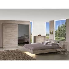 chambre 180x200 chambre 180x200 avec armoire 2 portes 260cm marron