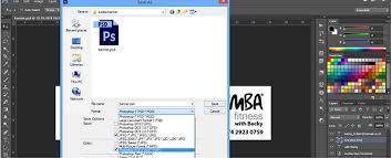 cara membuat desain x banner di photoshop how to design a banner in photoshop