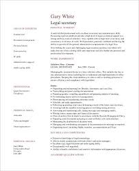 Example Secretary Resume Legal Secretary Resume Examples Secretary Resume Example Legal