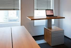 office desk adjustable height espresso height adjustable standing desk design feature grey metal