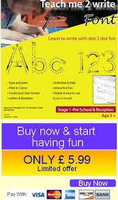 children u0027s handwriting kids fonts font learning to write teaching