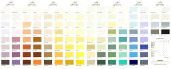 images of ici paint color chart sc