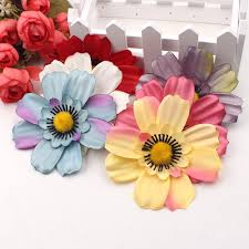 aliexpress com buy 5pcs 10cm daisy artificial flowers head for