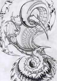 100 bio tattoo design biomechanical tattoos and designs