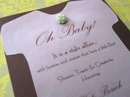 handmade invitations cathie filian snapsuit decorating baby shower handmade invitations