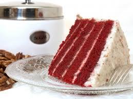 sylvia u0027s red velvet cake recipe cdkitchen com