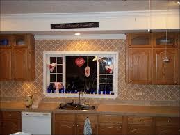 kitchen faux mosaic tile wallpaper white chandelier decal glass