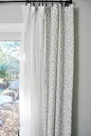 Curtain For Living Room by Love The Sheer Curtain Underneath And Solid Curtain On Top Layer