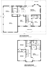 Floor Plan With Elevation by House Perfect Design Modern Two Storey House Plans Modern Two