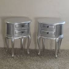 silver side table uk silver bedside table rbt2