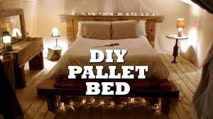 How To Build Bed Frame And Headboard How To Build A Rustic Pallet Bed Headboard