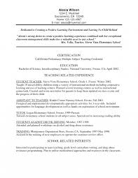 resume sle formats education emphasis bilingual resume exles templates