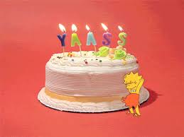 new trending gif on giphy birthday happy birthday cake yass
