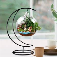 plant stand wrought iron hanging plant holders simple nature