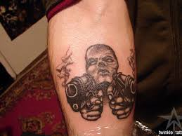 25 groovy gangster tattoos slodive