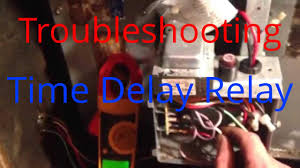 hvac service troubleshooting time delay fan relay on a trane air
