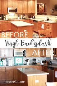 vinyl kitchen backsplash backsplash vinyl kitchen backsplash amusing tile plank vinyl