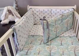 baby linen cot bumpers studio collection nursery fabric and