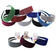 sparkly headbands headbands sparkly headband 12 pack sparkles hairbands by