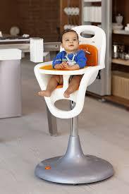 Boon High Chair Reviews Boon Flair Pedestal High Chair Orange White Babies
